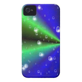 arco iris del verde azul en la piel del elefante Case-Mate iPhone 4 protectores