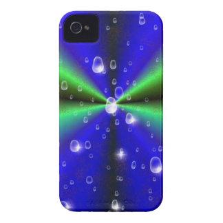 Arco iris del verde azul en la piel del elefante iPhone 4 carcasas