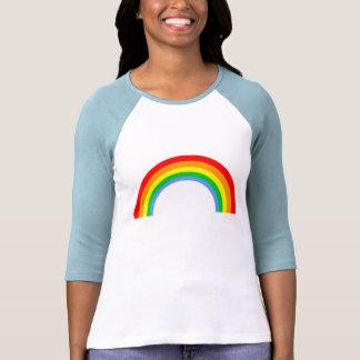 Arco iris del vintage del tigre 80s de Corey Camiseta