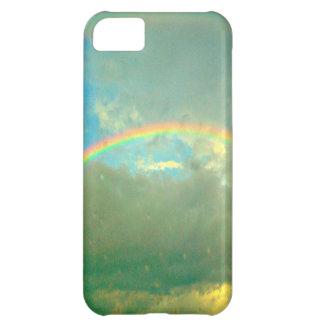 Arco iris después de la tormenta funda para iPhone 5C