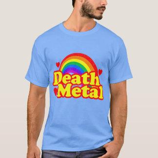 Arco iris divertido del metal de la muerte (mirada playera