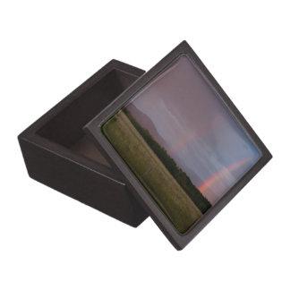 Arco iris doble caja de recuerdo de calidad