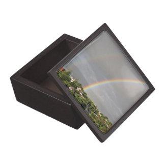 Arco iris doble caja de regalo de calidad
