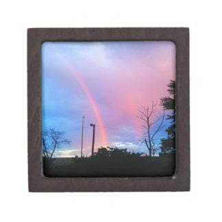 arco iris doble cajas de regalo de calidad