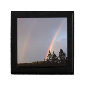 Arco iris doble en Colorado Caja De Joyas