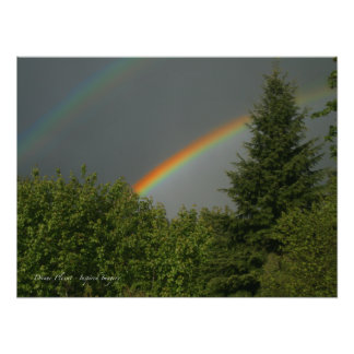 ¡Arco iris doble! Impresiones Fotográficas