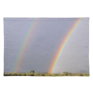 Arco iris doble mantel