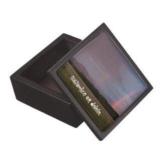 Arco iris doble Personalizable Cajas De Recuerdo De Calidad