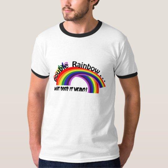 Arco iris doble playera