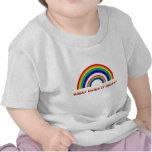 Arco iris doble. ¿Qué significa? Camisetas