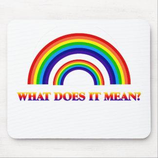 Arco iris doble. ¿Qué significa? Tapetes De Ratones