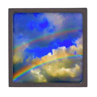 Arco iris doble Vision Caja De Joyas De Calidad