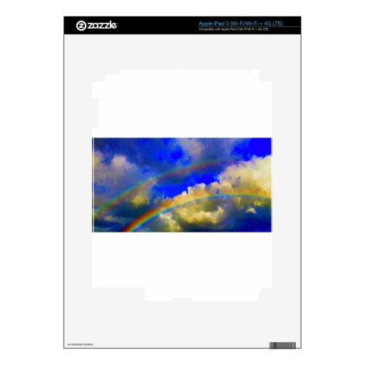 Arco iris doble Vision iPad 3 Skins