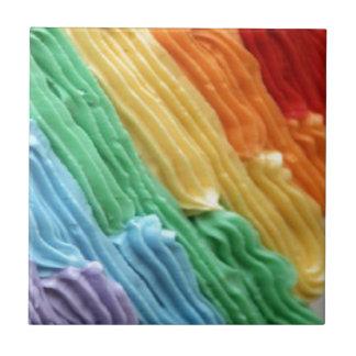 arco iris dulce: azulejo ceramica