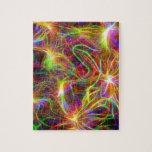 Arco iris eléctrico puzzles
