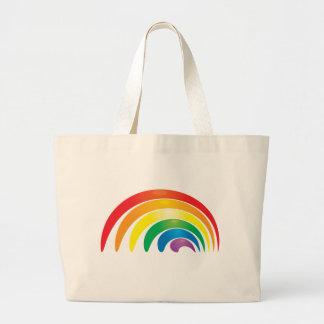 Arco iris elegante bolsas