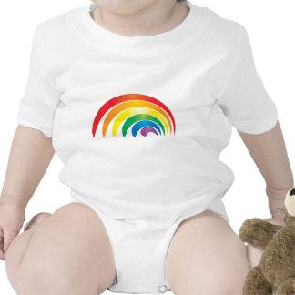 Arco iris elegante traje de bebé