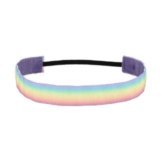 Arco iris en colores pastel Ombre Bandas De Cabello Antideslizantes