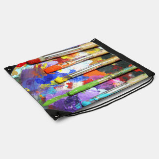 Arco iris en curso mochilas