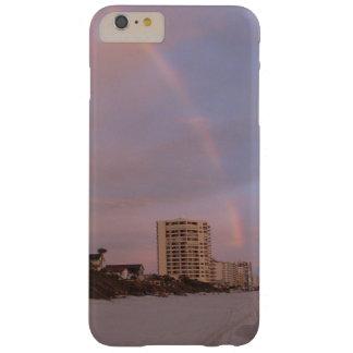 Arco iris en Daytona Beach la Florida Funda De iPhone 6 Plus Barely There