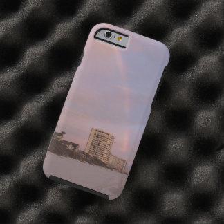 Arco iris en Daytona Beach la Florida Funda De iPhone 6 Tough