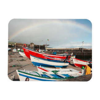 Arco iris en el puerto imanes flexibles