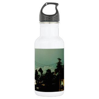 Arco iris en La Habana Botella De Agua
