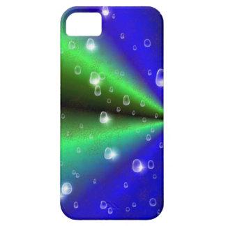 Arco iris en la óptica de cuero de Elefantenhaut iPhone 5 Cárcasa