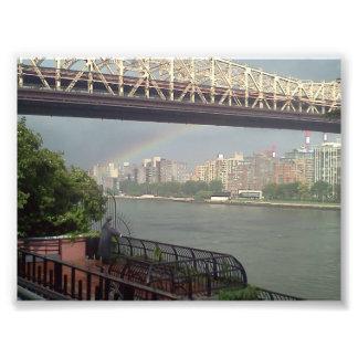 Arco iris en Manhattan Impresion Fotografica