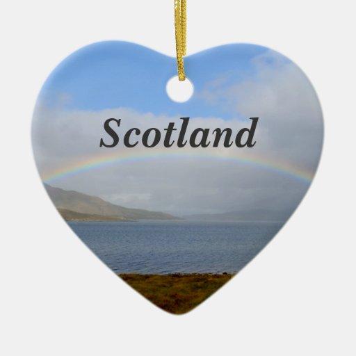 Arco iris escocés adornos