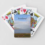 Arco iris escocés cartas de juego
