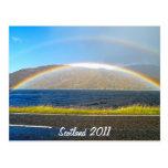 Arco iris escocés postales