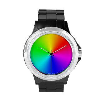 Arco iris estallado - reloj
