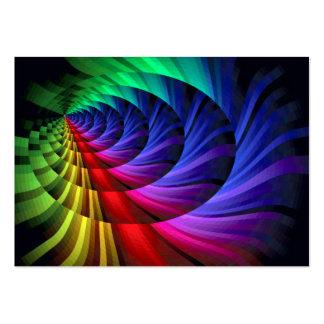 Arco iris Express_ Tarjetas De Visita Grandes