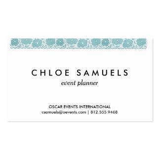 Arco iris femenino de la cinta del cordón de la tarjetas de visita