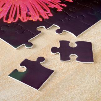 Arco iris floral puzzle con fotos