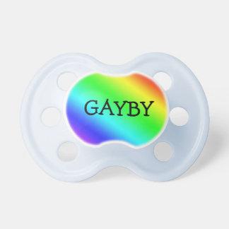 """Arco iris """"Gayby """" Chupetes De Bebe"""