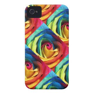 Arco iris geométrico subió Case-Mate iPhone 4 protector