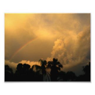 Arco iris glorioso fotografia