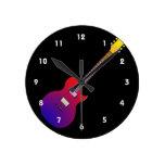 arco iris gradient.png de la guitarra eléctrica relojes