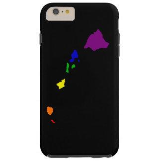 Arco iris Hawaii Funda Para iPhone 6 Plus Tough
