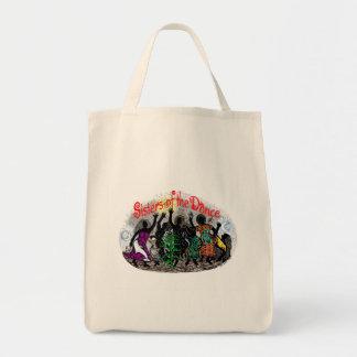 Arco iris - hermanas de la bolsa de asas de la