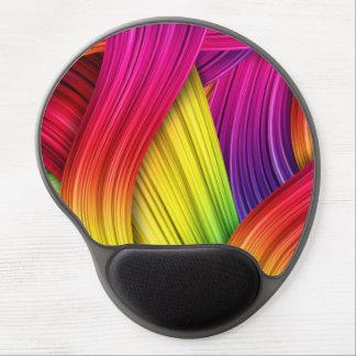 Arco iris hermoso de colores alfombrilla gel