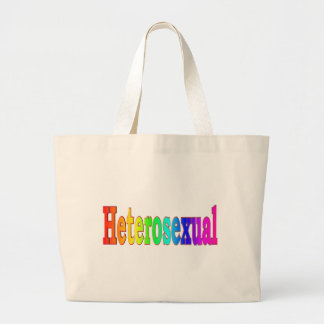 Arco iris heterosexual bolsas