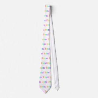 Arco iris heterosexual corbatas personalizadas