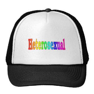 Arco iris heterosexual gorro