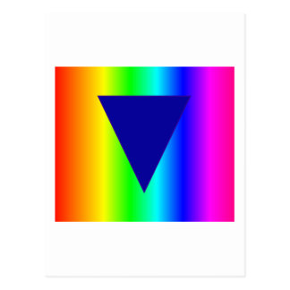 Arco iris heterosexual postal