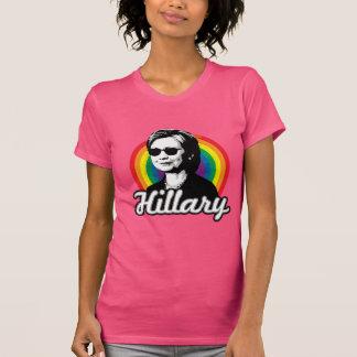 Arco iris Hillary Clinton 2016 - Clinton fresco - Playera