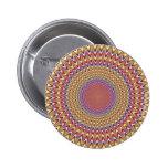 Arco iris hipnótico del círculo de la ilusión ópti pin