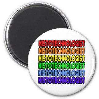 Arco iris Histotechnologist Imán Redondo 5 Cm